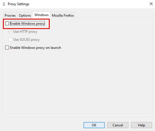 Charles Proxy Windows Proxy deaktivieren
