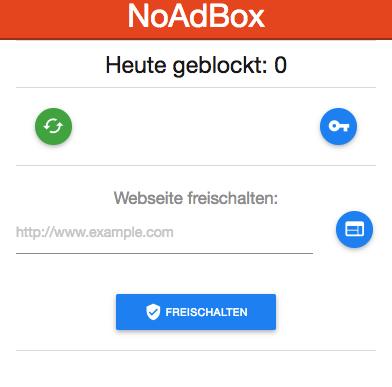 noadbox-chrome-erweiterung